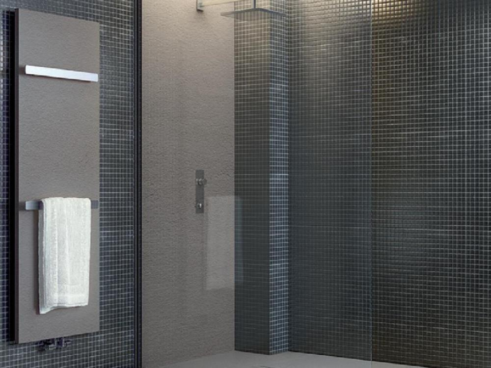Bac douche alain vera carrelage for Salle de bain carrelage colore
