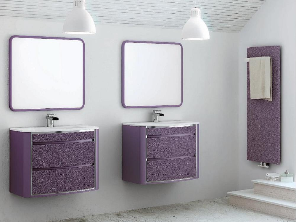 meuble salle de bain violet meuble salle de bain violet with meuble salle de bain violet dco. Black Bedroom Furniture Sets. Home Design Ideas