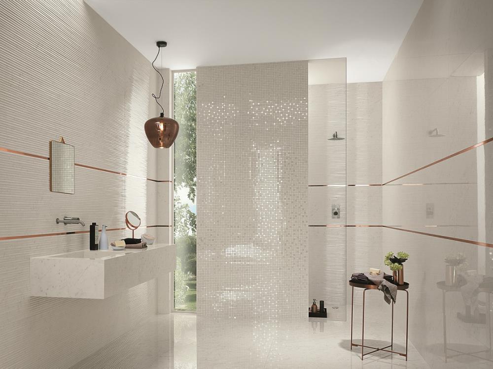 Carrelage salle de bains Mosaiques | Alain Vera Carrelage