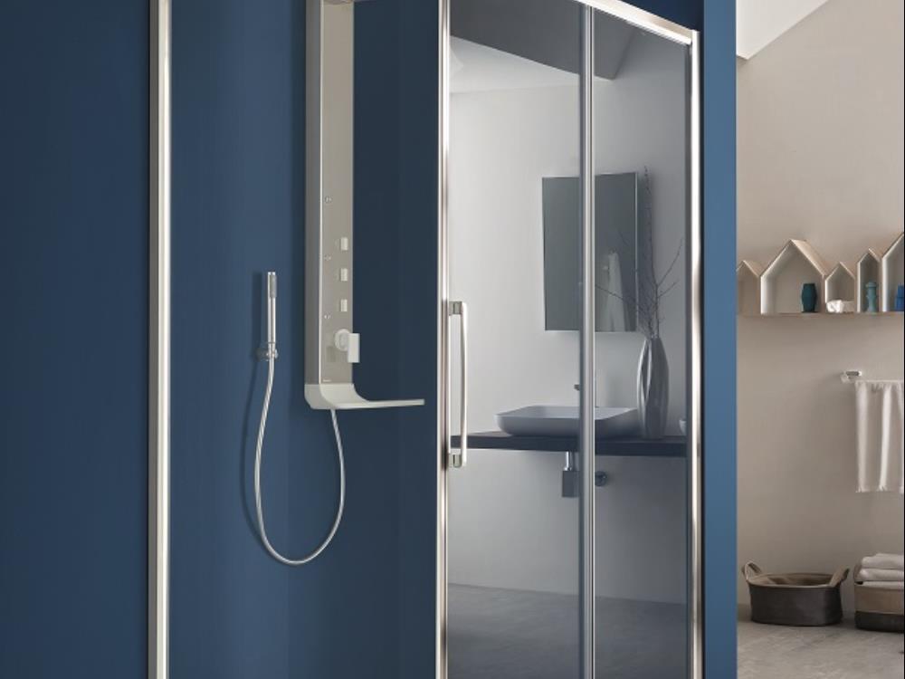 Salle de bain bleu ciel affordable faience salle de bain bleu ciel versailles u jehanne d alcy for Salle de bains douche saint paul