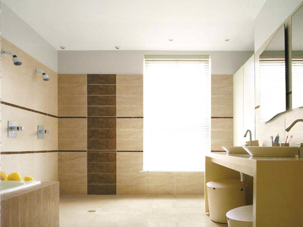 Faeince salle de bain for Carrelage moderne brillant